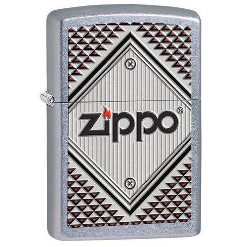 Зажигалка Zippo Red and Chrome