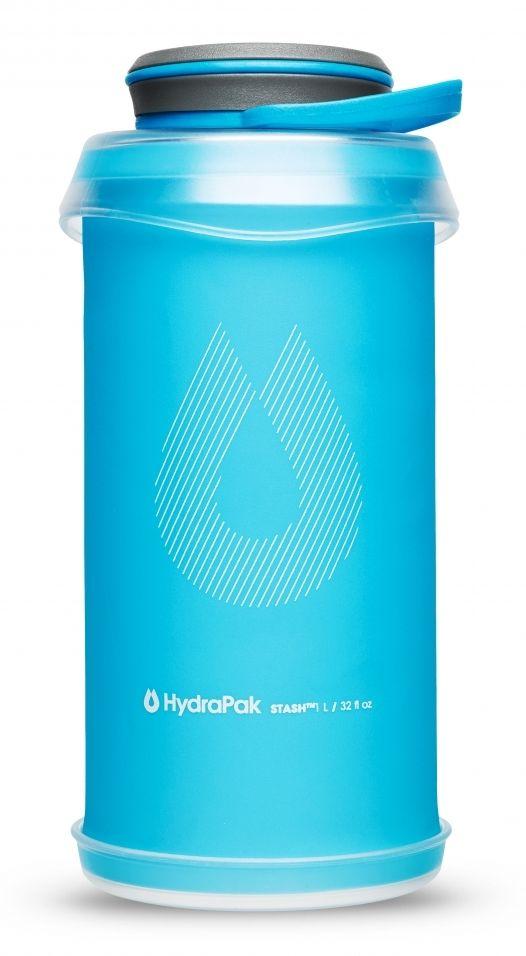 Мягкая бутылка HydraPak Stash Malibu Blue 1 л