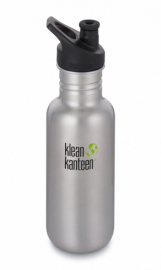 Фляга Klean Kanteen Classic Sport Cap Brushed Stainless 532 ml
