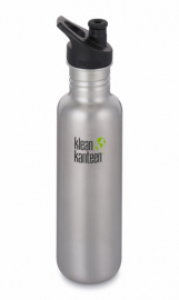 Фляга Klean Kanteen Classic Sport Cap Brushed Stainless 800 ml