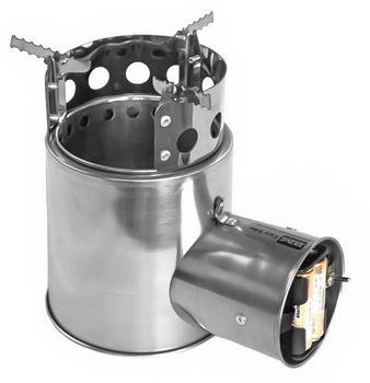 Турбопечка щепочница BM Easy Hike Airwood Light+ BM