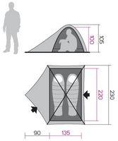 Палатка Hannah Falcon 2 - фото 1