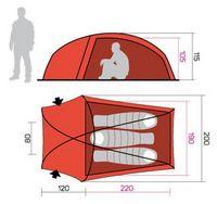 Палатка Hannah Sett 3 - фото 2