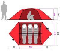 Палатка Hannah Eagle 3 - фото 2