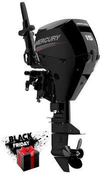 Лодочный мотор Mercury F15M (Меркури Ф15)
