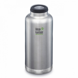 Термобутылка Klean Kanteen TKWide Loop Cap Brushed Stainless 1900 ml
