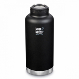 Термобутылка Klean Kanteen TKWide Loop Cap Shale Black Matt 1900 ml