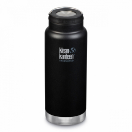 Термобутылка Klean Kanteen TKWide Loop Cap Shale Black Matt 946 ml