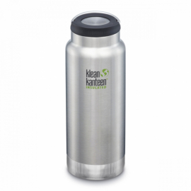 Термобутылка Klean Kanteen TKWide Loop Cap Brushed Stainless 946 ml