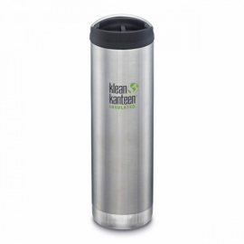 Термочашка Klean Kanteen TKWide Cafe Cap Brushed Stainless 592 ml