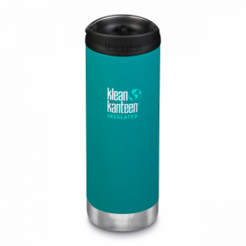 Термочашка Klean Kanteen TKWide Cafe Cap Emerald Bay 473 ml