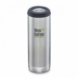 Термобутылка Klean Kanteen TKWide Loop Cap Brushed Stainless 473 ml