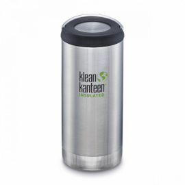 Термобутылка Klean Kanteen TKWide Loop Cap Brushed Stainless 355 ml