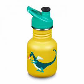 Бутылка для воды Kid Kanteen Classic Sport Cap Dragon Snack Matt 355 мл