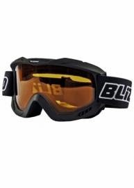 Маска для лыж и сноуборда Blizzard 911 DAX Black matt - Amber