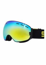 Маска для лыж и сноуборда Sposune HX003-4 Matte Black-Full Revo Golden