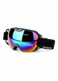Маска для лыж и сноуборда Sposune HX012-3 Carbon-Revo Rainbow