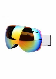 Маска для лыж и сноуборда Sposune HX021-2 Matte White-Fake Revo Red