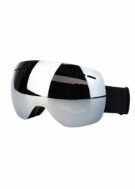 Маска для лыж и сноуборда Sposune HX021-3 Matte Black-Mirror Grey
