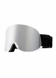 Маска для лыж и сноуборда Sposune HX041-4 Glossy White-Grey Mirror
