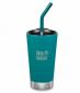 Термостакан тамблер с соломинкой Klean Kanteen Insulated Tumbler Emerald Bay 473 мл - фото 1