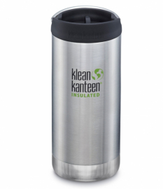 Термокружка Klean Kanteen TKWide Cafe Cap Brushed Stainless 355 мл