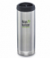 Термочашка Klean Kanteen TKWide Cafe Cap Brushed Stainless 473 мл - фото 1