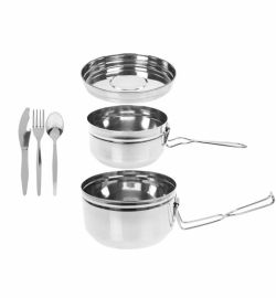 Набор посуды Summit Stainless Steel Tiffin Cookset 6 предметов