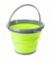 Ведро складное Summit Pop Bucket Lime/Grey 10 л - фото 1