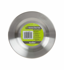 Тарелка Summit Stainless Steel Plate сталь 20 см