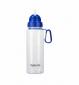 Спортивная бутылка для воды Summit MyBento Bottle With Flip Straw синяя 700 мл - фото 1