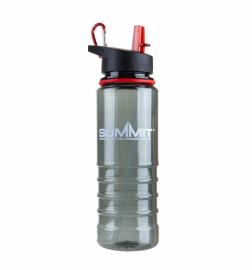 Бутылка Summit Tritan Bottle с соломинкой и карабином красная 700 мл