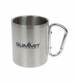 Кружка с ручкой-карабином Summit Carabiner Handled Mug сталь 300 мл