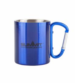 Кружка с ручкой-карабином Summit Carabiner Handled Mug синяя 300 мл