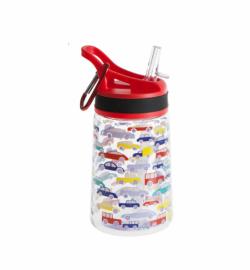 Бутылка для воды Summit Kids Boys c соломинкой и карабином красная 350 мл