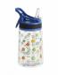 Бутылка для воды Summit Kids Girls c соломинкой и карабином синяя 350 мл - фото 1