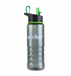 Бутылка Summit Tritan Bottle с соломинкой и карабином зеленая 700 мл