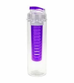 Бутылка для фруктовой воды Summit MyBento Fruit Infuser Bottle фиолетовая 700 мл