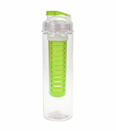 Бутылка для фруктовой воды Summit MyBento Fruit Infuser Bottle зеленая 700 мл