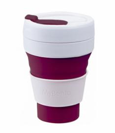 Складной стакан Summit MyBento Midi Pop Cup бордовый 355 мл