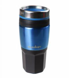 Термокружка Summit Insulated Drinks Mug With Grip синяя 400 мл