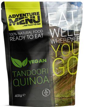 Готовое блюдо Киноа с овощами и пряностями Adventure Menu Tandoori Quinoa