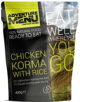 Готовое блюдо Курица Корма с рисом Adventure Menu Chicken Korma with rice