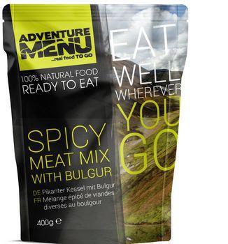 Готовое блюдо Пикантное мясо с булгуром Adventure Menu Spicy meat mix with bulgur