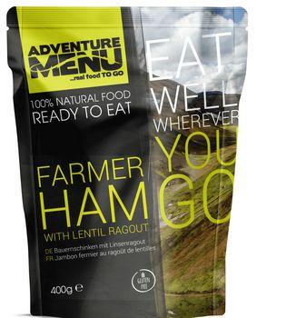 Готовое блюдо Фермерская ветчина с чечевицей Adventure Menu Farmer ham with lentil ragout
