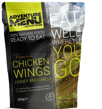 Готовое блюдо Куриные крылышки в меду и чили Adventure Menu Chicken wings honey and chilli