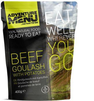 Готовое блюдо Гуляш из говядины с картофелем Adventure Menu Beef goulash with potatoes