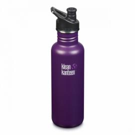 Спортивная бутылка для воды Klean Kanteen Classic Sport Cap Winter Plum 800 мл