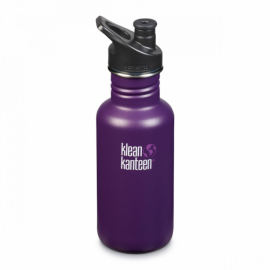 Спортивная бутылка для воды Klean Kanteen Classic Sport Cap Winter Plum 532 мл