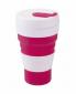 Складной стакан Summit MyBento Grande Pop Cup Бордовый 450 мл - фото 1